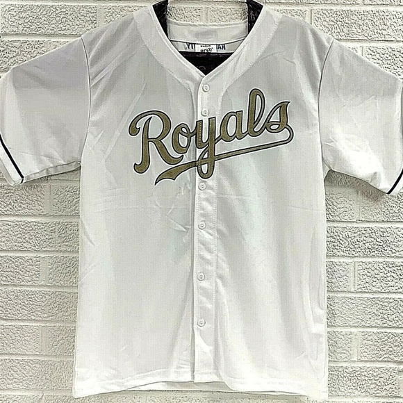 new arrivals 7a185 224ef Kansas City Royals SGA Gold 2015 Champs Replica